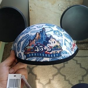 NWT Disney Magic kingdom 45 anniversary ear hat